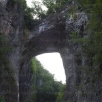 The Natural Bridge- one of the Seven Natural Wonders of the World.