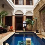 Ground floor of the Riad