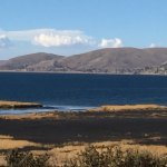 Lake Titicaca and hotel labyrinth. Gorgeous and serene!