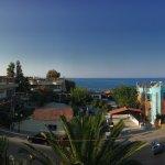 Panoramica dal terrazzo