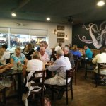 Older clientele that enjoys good local food in a place with an attitude.