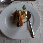 mise en bouche : petite rillette de saumon