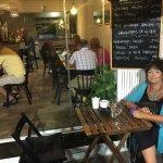 A new wonderful little restaurant in the most cosy street in Torremolinos, Calle Bajondillo