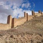 Murallas de Albarracin ahora iluminadas de noche una pasada!