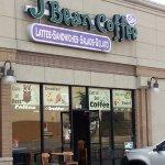 Entrance to J Bean Coffee