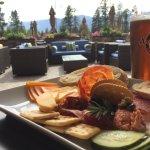 Meat & Cheese Board & Arrowhead IPA
