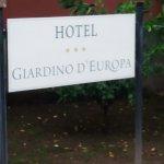 Foto di Hotel Giardino d'Europa