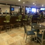 Enjoy your favorite beverage in our newly-redone Lounge