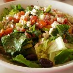 Mediterranean Salad! Fresh and delicious!