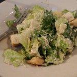 Scrumptious caesar salad.