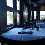 Second floor dining room.
