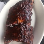 Brisket and ribs. Excellent!