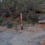 Checkpoint on Hobert Trail - to Dobbins Lookout sign