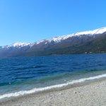 saliendo al lago Gutierrez