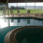 View across the Moray Firth from the pool...