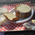 Clam Chowder with Bread Bowl