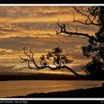 Sunset over Loch Snizort Allt na Criche B&B, Portree, Scotland