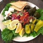 Greek salad, YUM!