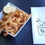 Ración de calamares.