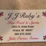 J J Rubys