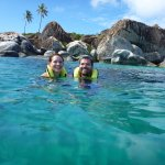 Baths at Virgin Gorda where they recommended we visit / set up our reservation