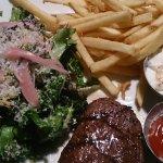 Steak fries And Ravioli