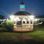Beautiful gazebo that you can relax in.