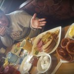 Met my daughter for my birthday breakfast. What wrestlers eat after weigh-ins! LOL! DAYUM!!!