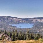 Long Lake on the trail from Big Bear Lake