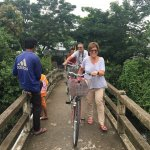 Guests stayed in Dragon Eyes I Cruise Biking tour and Floating market.