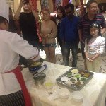Veg Samosa demonstration by Chef