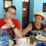 mis hijos Álvaro y Jorge