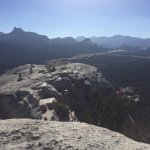 The view from Lembert Dome