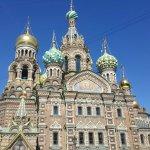 St Petersburg. The city of beautiful churches