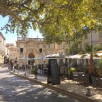 A lovely square in Avignon