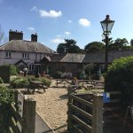 Beautiful country pub and beer garden