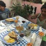 Superbe halte à Trinidad chez lili et Carlos. Carlos, dermatologue à même soigné mon fils  Top t