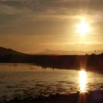 sunset Arisaig