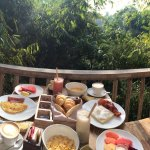 The Breakfast with the view