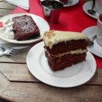 Carrote cake e Brownie
