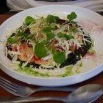 Polenta mit Parmesan und Rucola