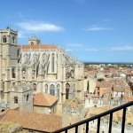 La cathédrale vue du Donjon Gilles Aycelin