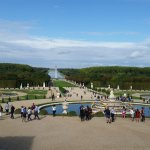 Versailles looking to Grand Canal