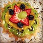 Strawberry-Kiwi mini tartlets...