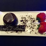 An elegant and delicious birthday treat!