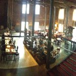 Pano of the restaurant/bar area