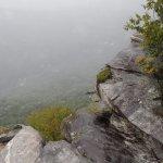 """Chimney Rock when it's """"foggy"""""""