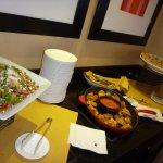 Concierge lounge evening delights