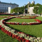 Nearby Mirabell Palace and Gardens.