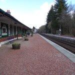 Charming train station